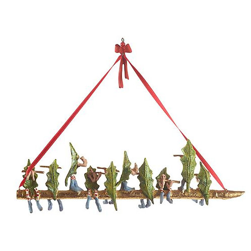 12 DAYS ORNAMENT - 10 Pipers Piping