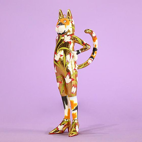 CATS ORNAMENT - Calico Candy Catsuit