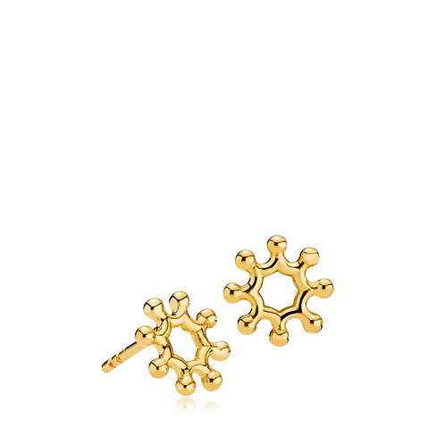 LITTLE PRINCE OHRSTECKER SMALL Silber vergoldet