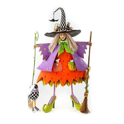 "HALLOWEEN FIGUREN - Halloween ""Raggedy Witch"""