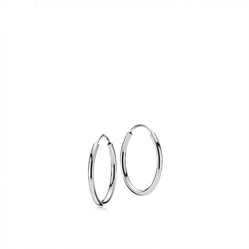 FLAMINGO OHRRINGE SMALL Silber