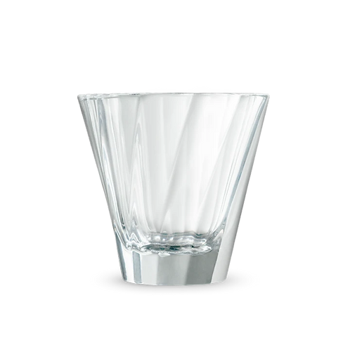 Urban Glass – gedrehtes Cappuccino Glas 180 ml