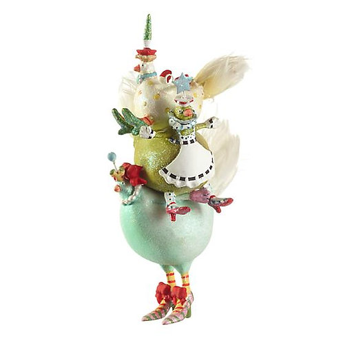 12 DAYS ORNAMENT - 3 French Hens