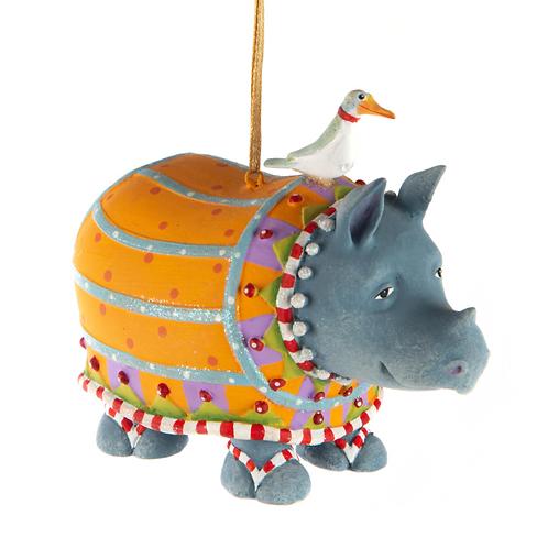 JAMBO! ORNAMENT - Ralph Rhino