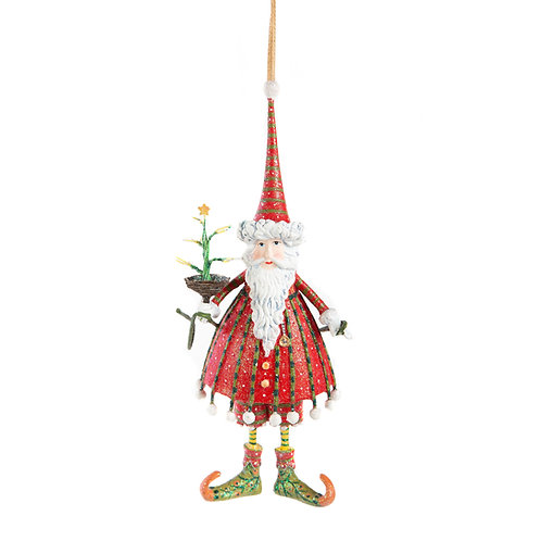 DASH AWAY ORNAMENT - Dashing Santa