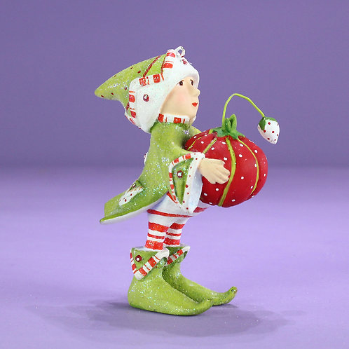DASH AWAY ELF MINI ORNAMENT - Prancer