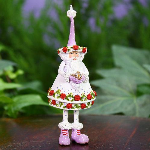WOODLAND MINI ORNAMENT - Woodland Santa