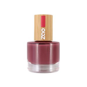 ZAO Nagellack – 667 Rose amarante