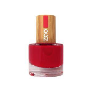 ZAO Nagellack – 650 Rouge carmin