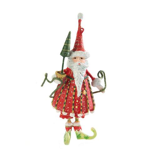DASH AWAY MINI ORNAMENT - Dashing Santa