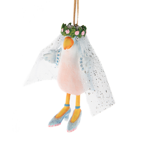 LOVE ORNAMENT - Love Bird Bride