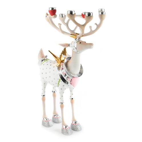 MOONBEAM RENTIER FIGUREN - Cupid Reindeer Candelabra
