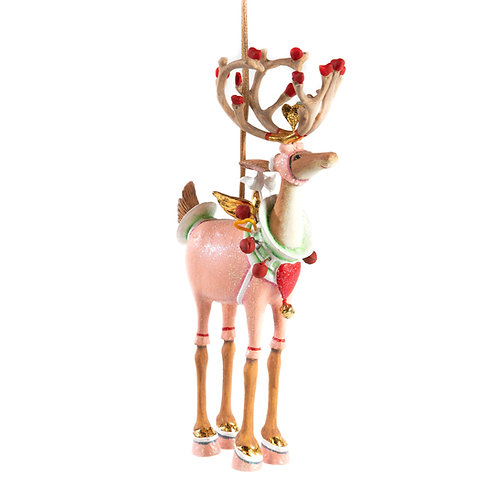 DASH AWAY RENTIER ORNAMENT - Cupid