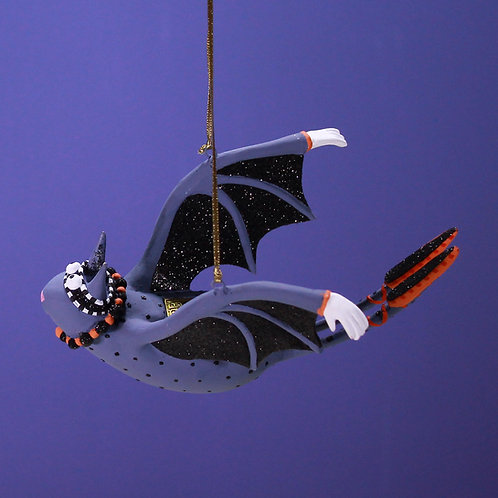 HALLOWEEN ORNAMENT - I Am Bat Woman