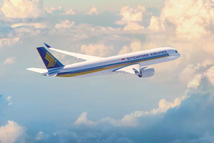 Airbus A350-900XWB ©Singapore Airlines