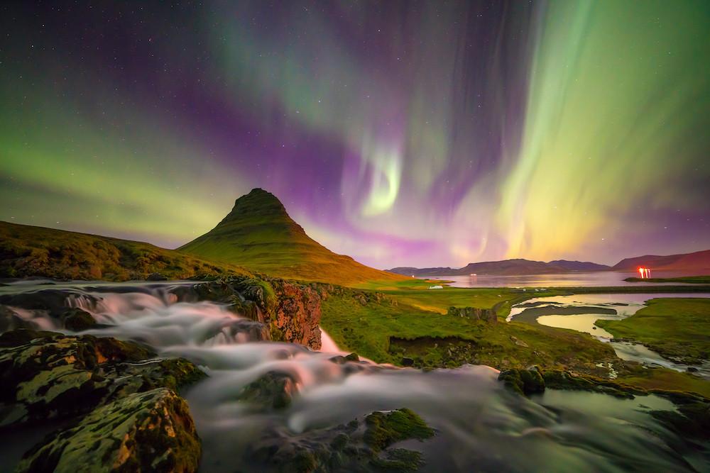 Nordlicht über Kirkjufell, Copyright: Shutterstock