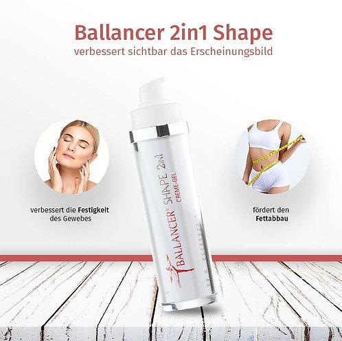 Ballancer® 2in1 Shape CremeGel 50 ml Airless-Spender