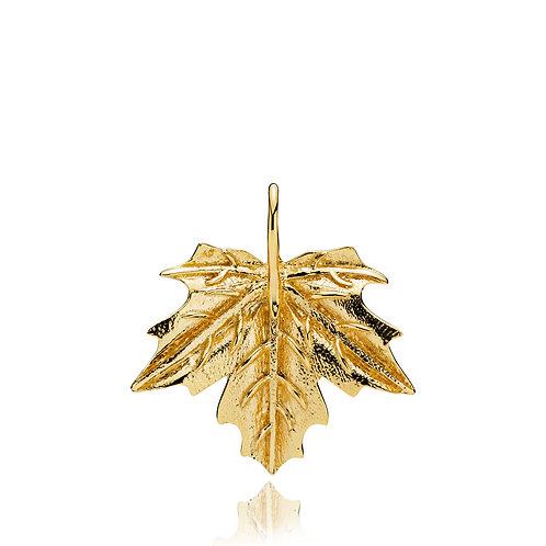 NATURE ANHÄNGER GROSS - Silber vergoldet