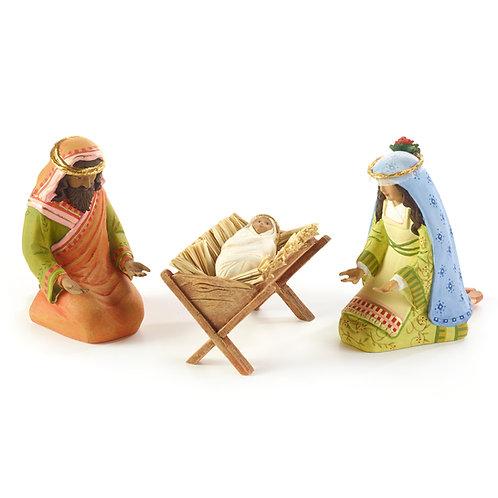 NATIVITY FIGUREN - Holy Family Set