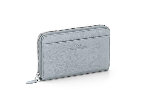 Portemonnaie «Okka» soft in Aluminium