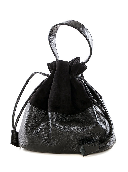 Bucket Bag «Alfa» Schwarz