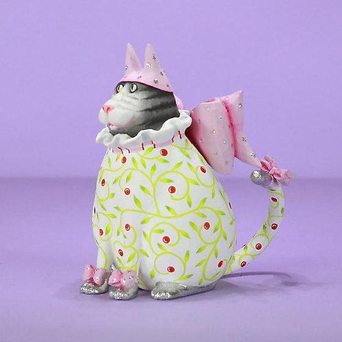 CATS ORNAMENT - Averina Pink Hat Cat