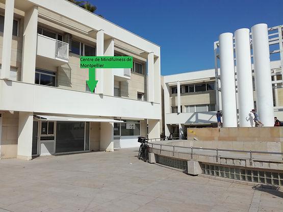 """centre où ont lieu les sessions de """"enfance et pleine conscience"""""""