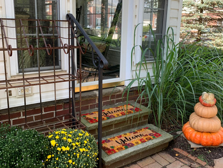 From Summer to Fall, then the Craft Show