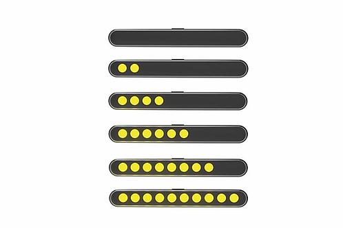 Clignotants LED HIGHSIDER Stripe-run par Balayage