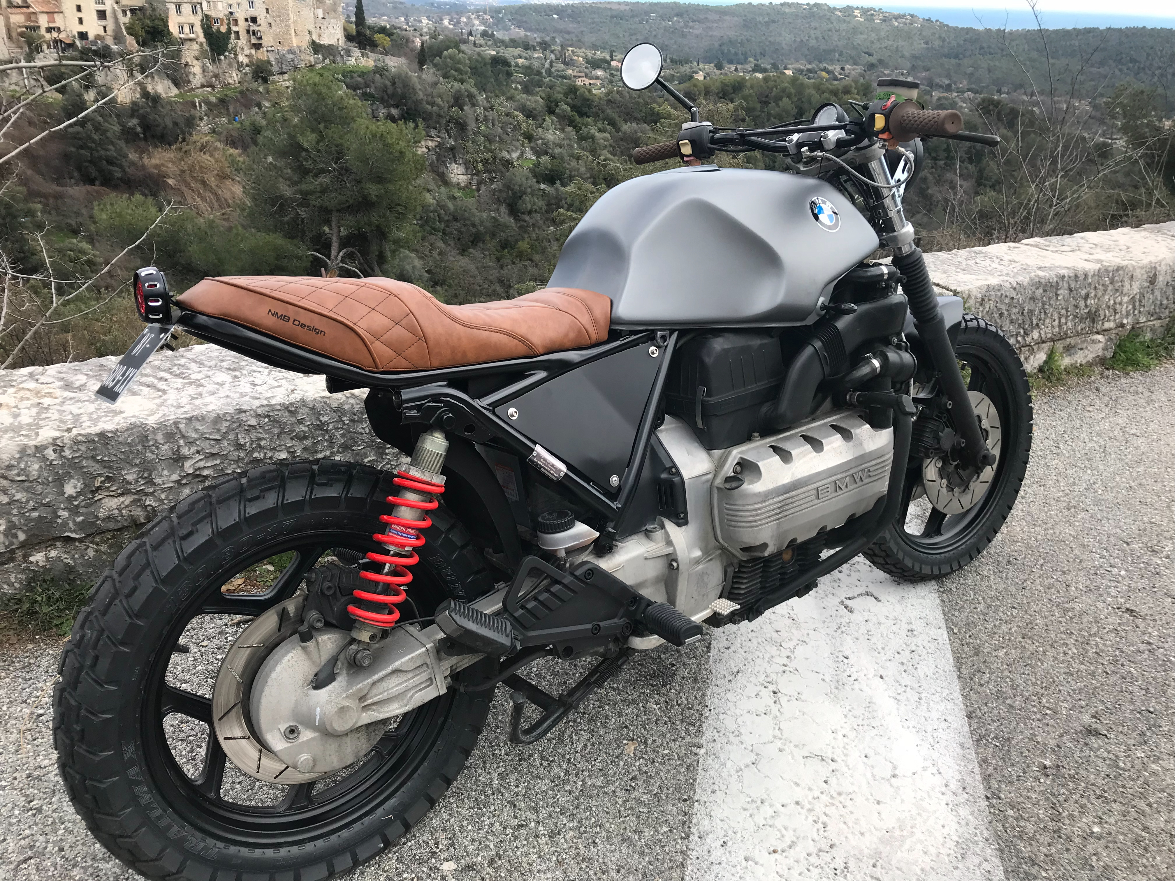 bmw K100 scrambler duke motorcycles