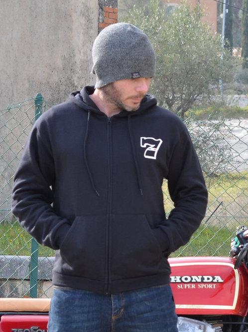 veste  noir duke motorcycles