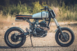 honda XR 600 cafe racer by duke motorcycles nice