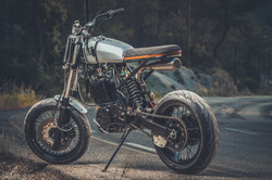 honda xr 600 cafe racer
