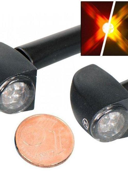 Clignotants + feu stop LED HIGHSIDER PROTON THREE