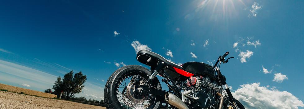 honda seven fifty scrambler duke motorcycles nice