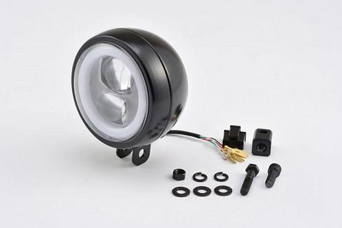 Phare LED Daytona Noir fixation centrale ou latérale