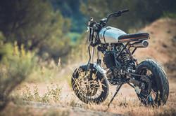 honda XR 600 cafe racer by duke motorcycles nice