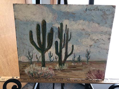 Anton Pearson Cactus Painting