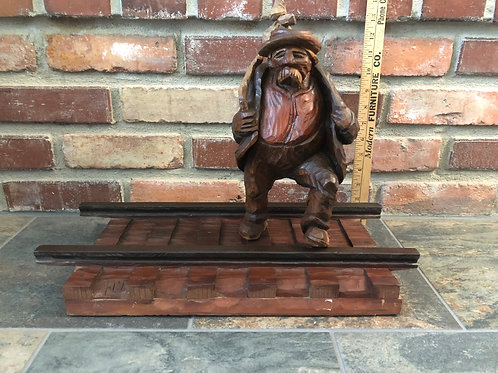 Norman Malm's Iconic RR Hobo Carving
