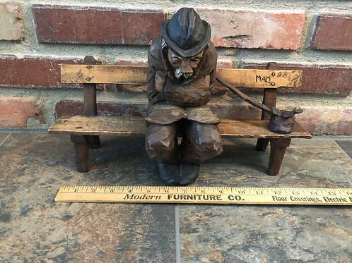 Norman Malm's Hobo on Bench