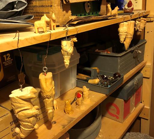 Jim's carving shop