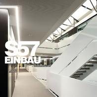 Eigene Leuchtenmanufaktur, Serie Luminar S57 Einbau.