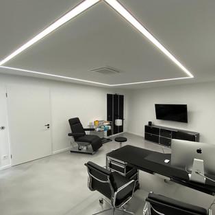 Minimalistic pure elegant lighting concept