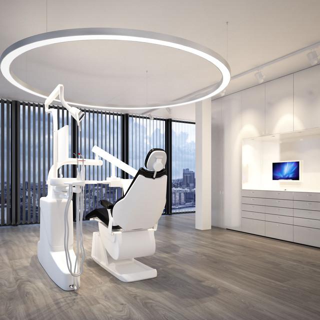Bringen Sie Ihren Behandlungsraum ins Szene mit einer 2.4 Meter Ringleuchte