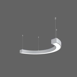 Serie Matrix Free, Halbkreis Durchmesser=800mm