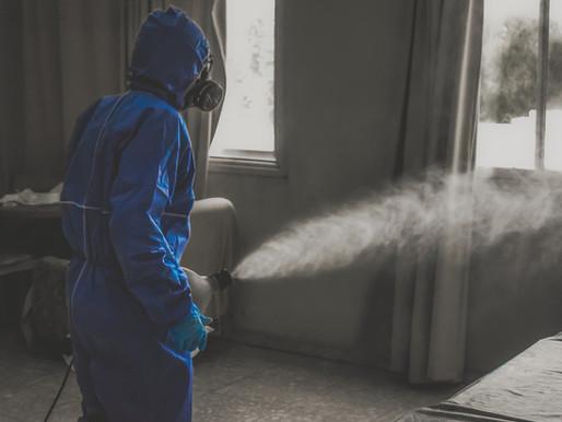 Wie Innenräume virenfrei gemacht werden können