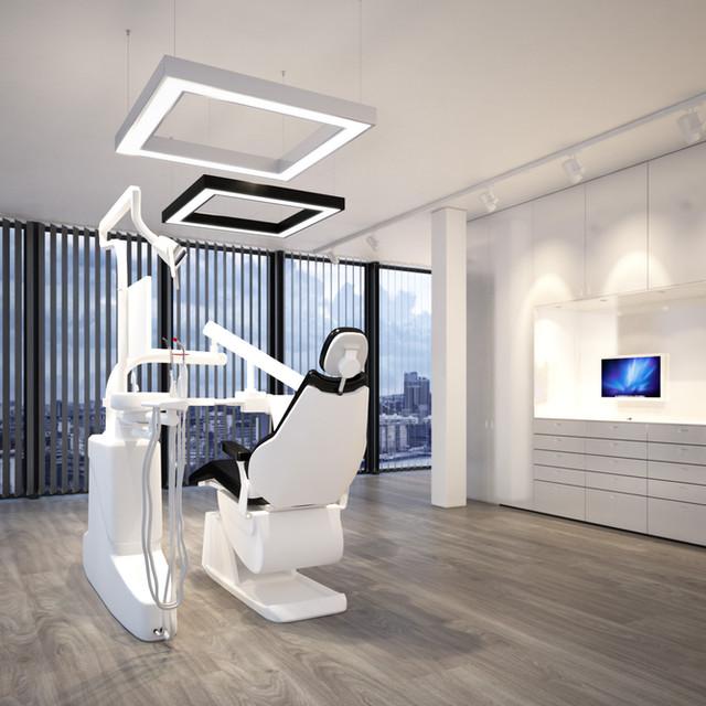 Beleuchtungskonzept im Behandlungsraum