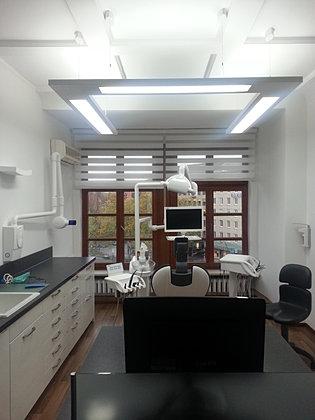 praxisbeleuchtung zahnarztbeleuchtung licht und raum. Black Bedroom Furniture Sets. Home Design Ideas