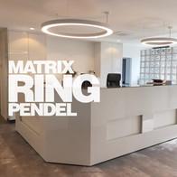 Eigene Leuchtenmanufaktur, Serie Matrix Ring.