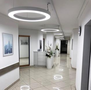Flurbeleuchtungskonzept beim Zahnarzt